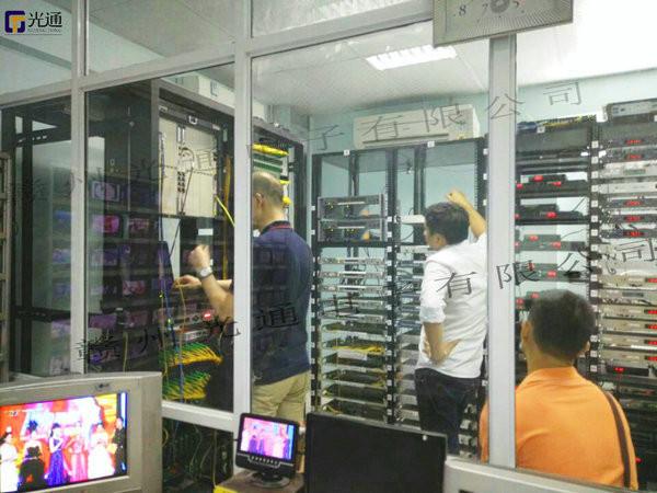 有线电视机房